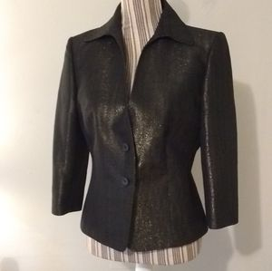 Cantarelli Italian 2pc Metallic Jacket & Skirt